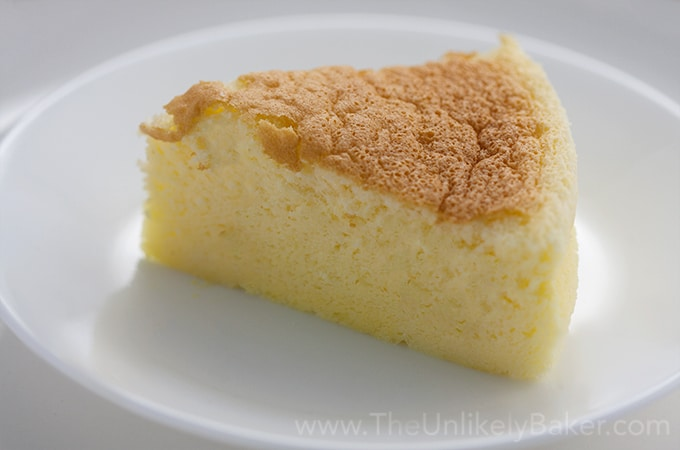 Japanese Cheesecake Slice - Soft as cotton!