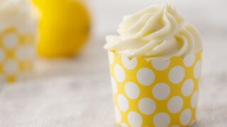 Limoncello Cupcakes with Limoncello Cream Cheese Frosting