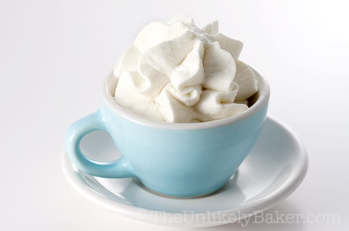 How to Make Homemade Whipped Cream (Video)