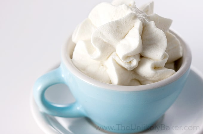 Make your own whipped cream