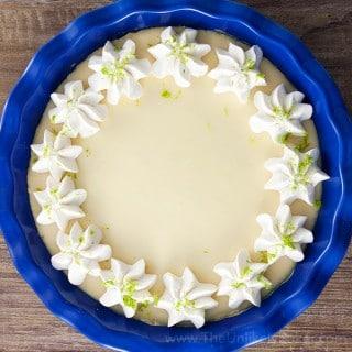 Eggless Key Lime Pie