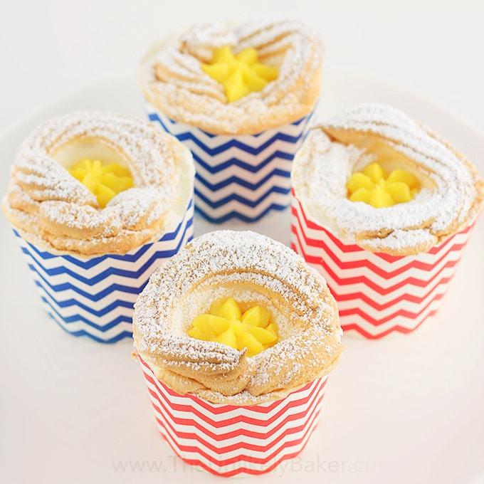 Brazo de Mercedes Cupcake