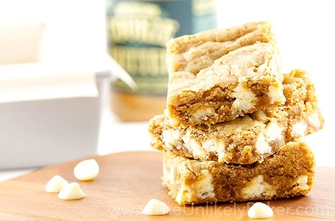 cookie butter blondies