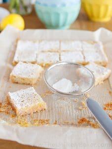 Lemon Bars with Shortbread Crust