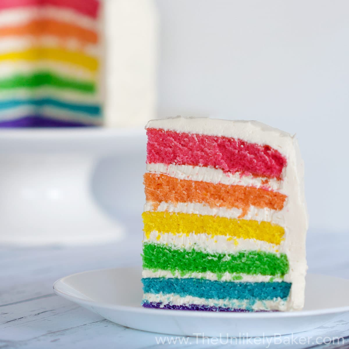 You Can Make Any Cake a Rainbow Cake - The Unlikely Baker