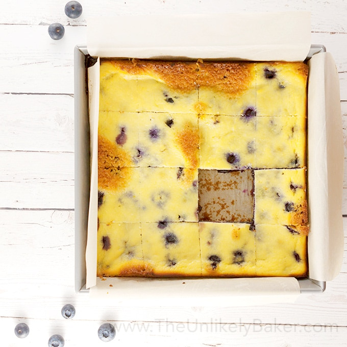 Blueberry Ricotta Bars