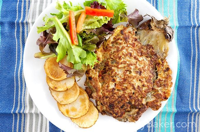 Filipino Eggplant Omelette