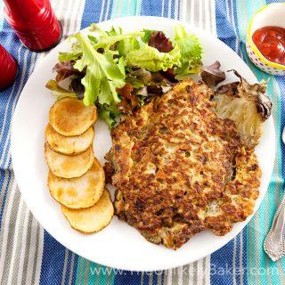 Filipino Eggplant Omelette (Tortang Talong)
