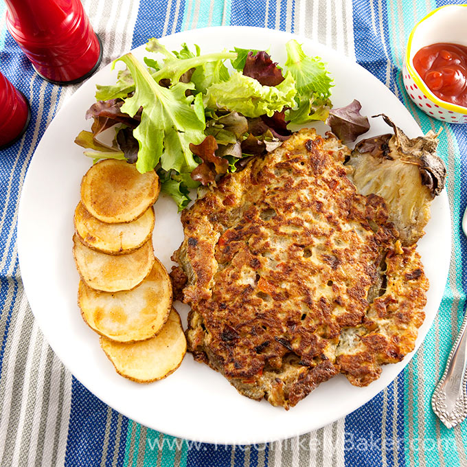 Filipino Eggplant Omelette (Tortang Talong)