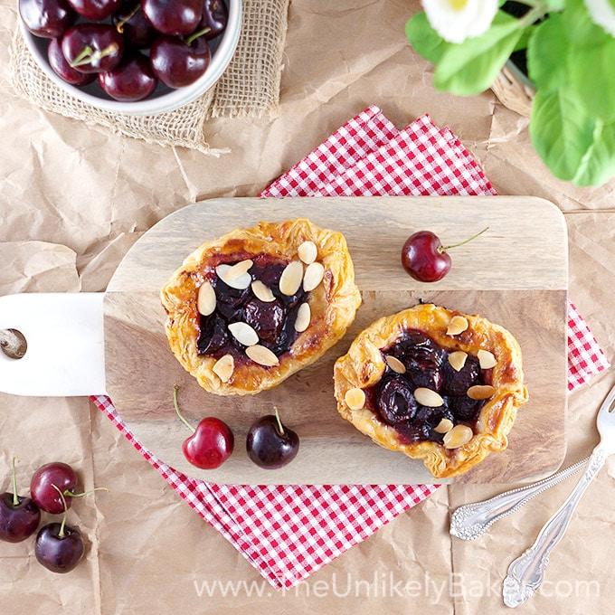 Mini Cherry Galette