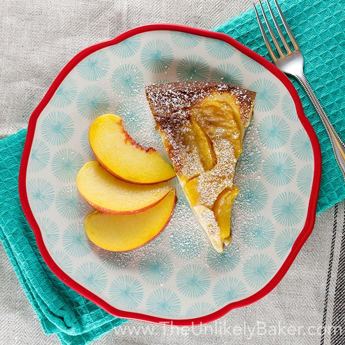 Peach Clafoutis