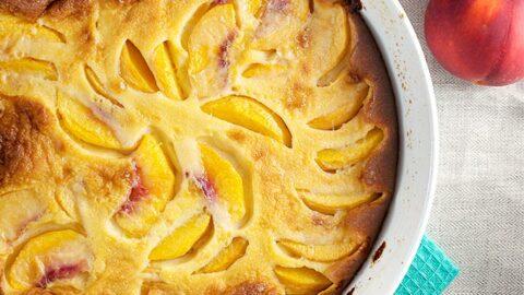 Peach Clafoutis Recipe – Made with Fresh Peaches