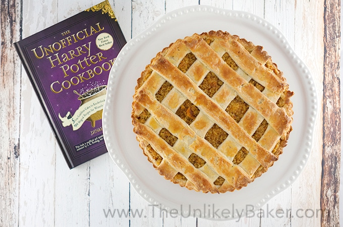 Treacle Tart Harry Potter S Favourite The Unlikely Baker