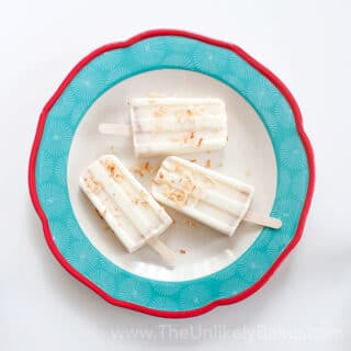 Coconut Popsicles (Filipino Ice Buko)