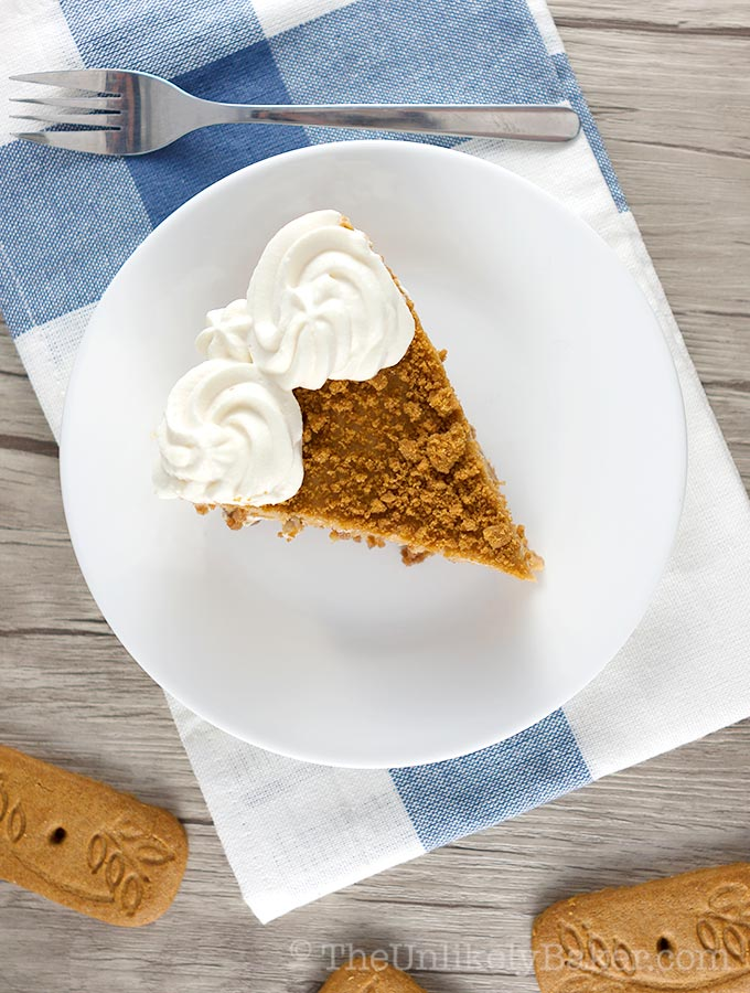 Cookie Butter Pie Recipe