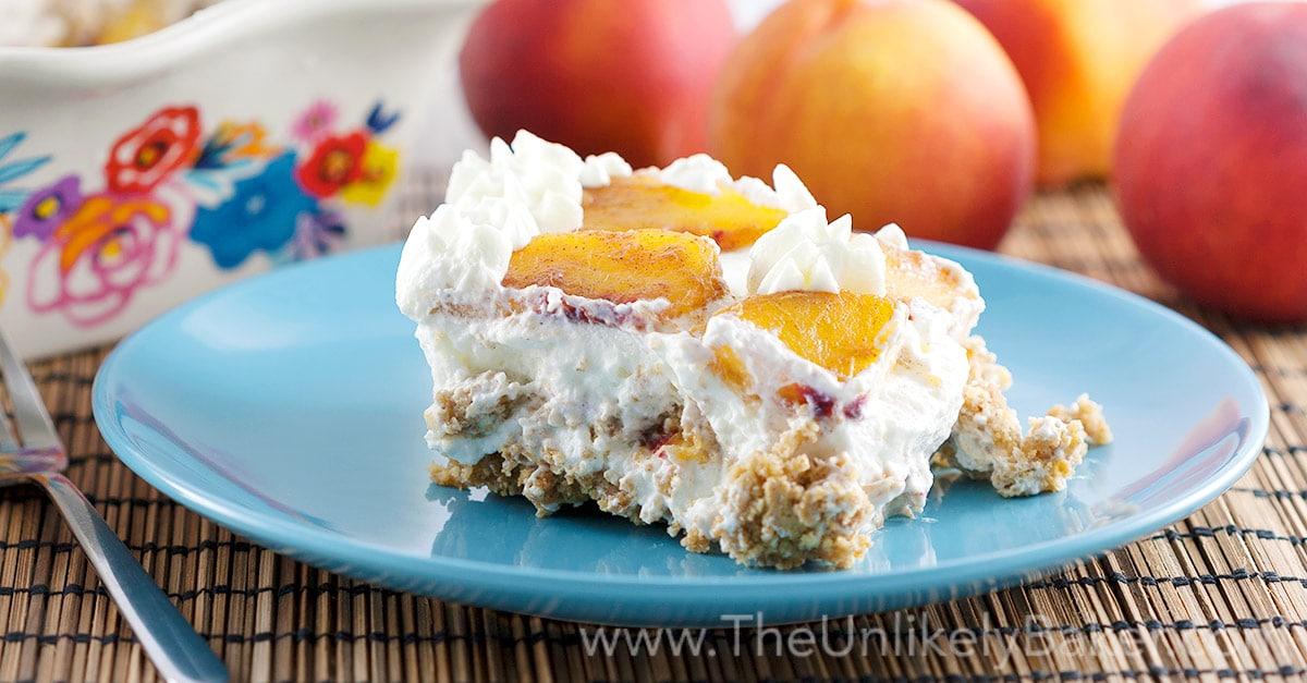 Peach Icebox Cake Recipe