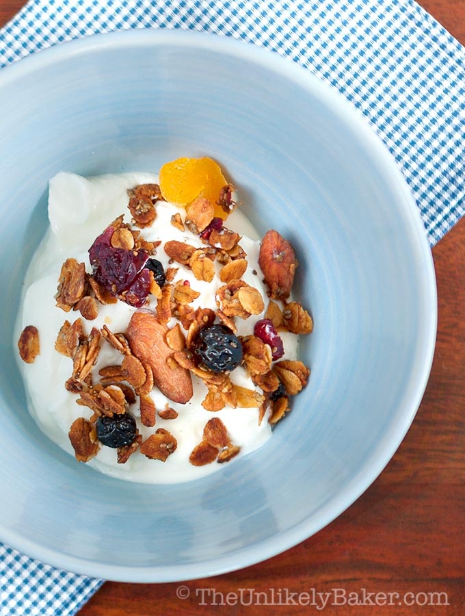 The Only Basic Granola Recipe You Need