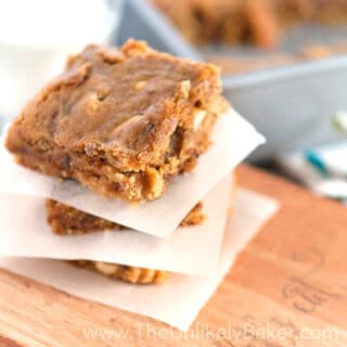 Soft & Chewy Peanut Butter Fig Bars