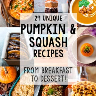 29 Unique Pumpkin and Squash Recipes