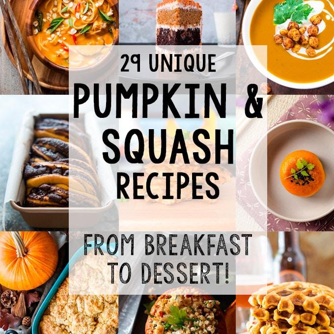 Unique Pumpkin and Squash Recipes