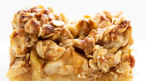 Apple Crumble Bars (with step-by-step photos) - The Unlikely Baker