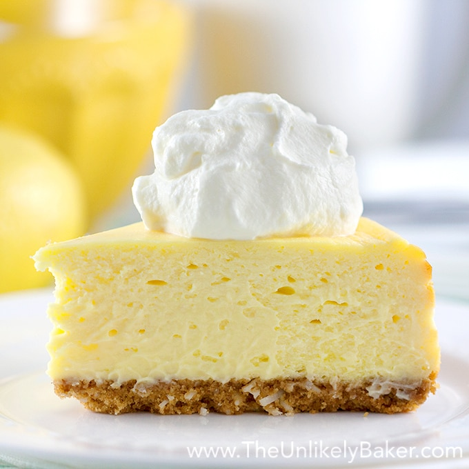 how to make lemon cheesecake with mascarpone cheese