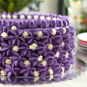 Ube Cake (Filipino Purple Yam Cake)