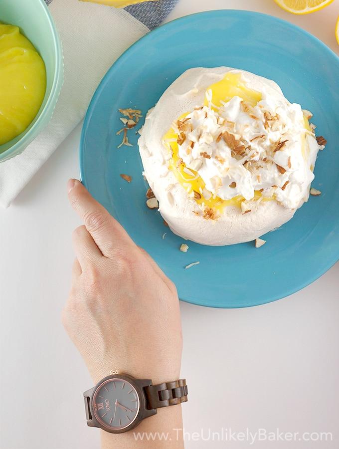 Lemon Pavlova