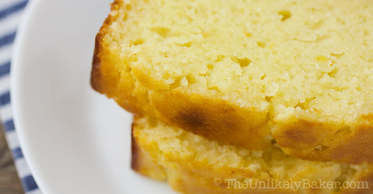 Meyer Lemon Tea Cake