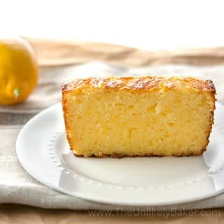 Meyer Lemon Ricotta Pound Cake