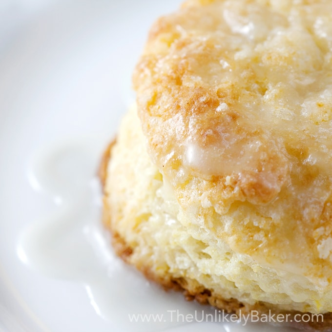 Quick & Easy Lemon Buttermilk Scones