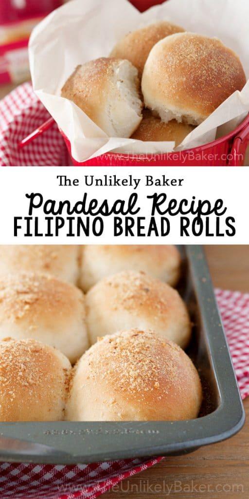 Pandesal Recipe (Filipino Bread Rolls)