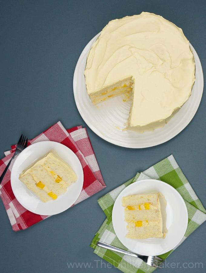 Mango Chiffon Cake
