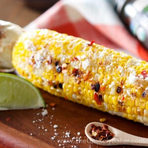 Grilled Corn on the Cob with Chili Butter