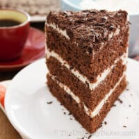 Chocolate Chiffon Cake Recipe