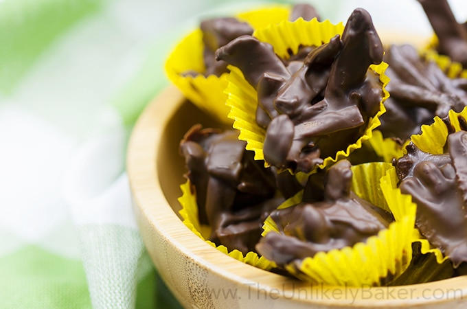 Dried Mango Chocolate Bites