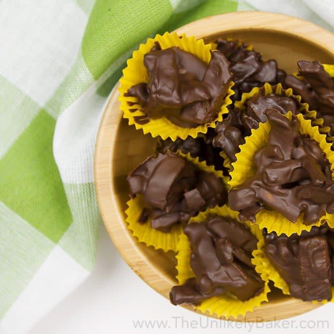 Dried Mango Chocolate Bites