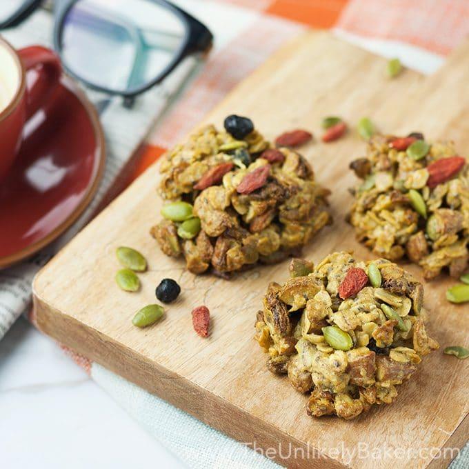 Healthy Superfood Breakfast Cookies