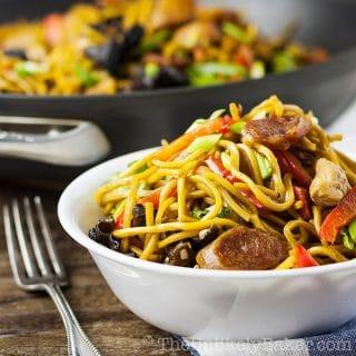 Pancit Canton Recipe (Filipino Stir-Fried Noodles)