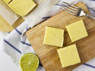 Creamy Lime Bars Recipe