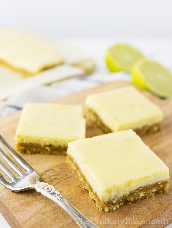 Creamy Lime Bars