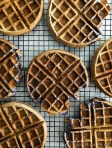 How to Make Ube Waffles
