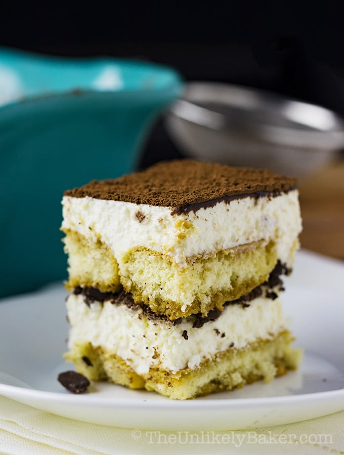 Easy Eggless Tiramisu (with step—by-step video)