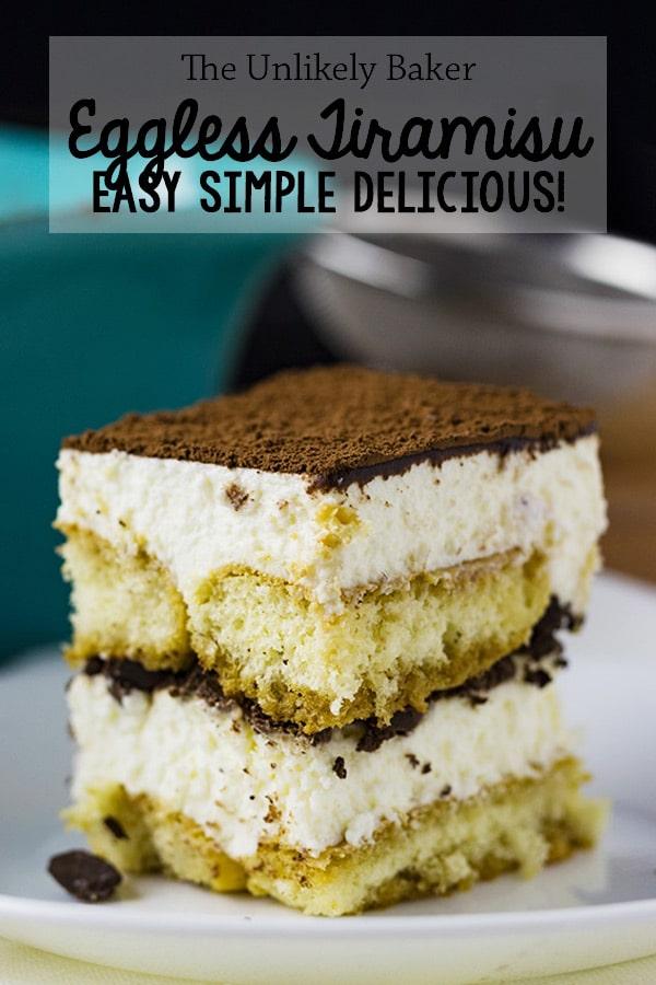 Easy Eggless Tiramisu (with step-by-step video)