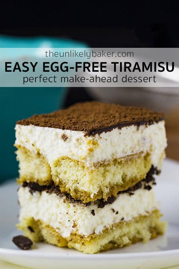 Easy Egg-Free Tiramisu Recipe
