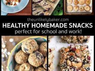 Healthy Homemade Snacks for Work and School