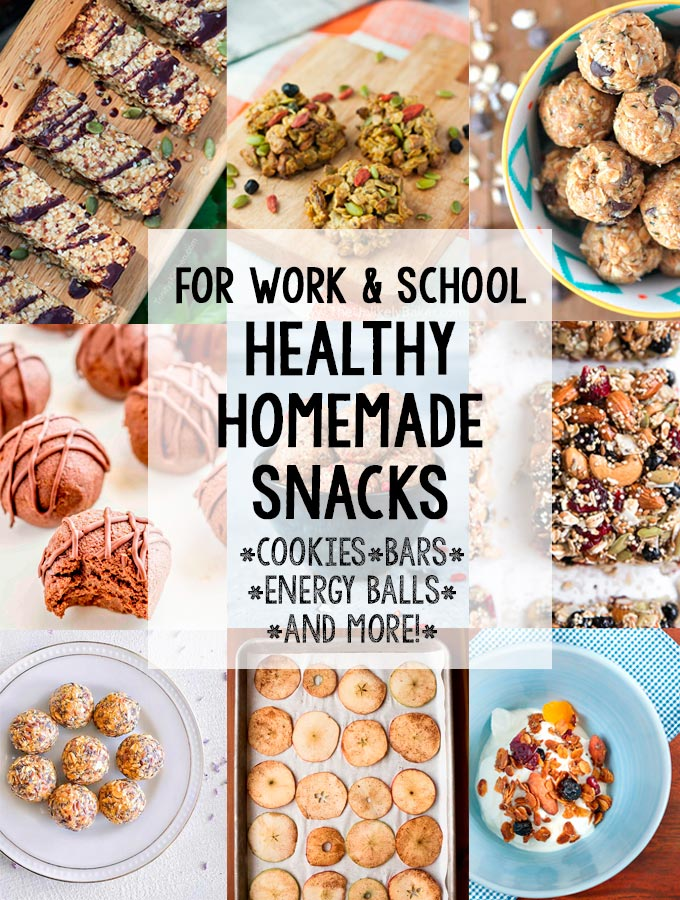 Healthy Homemade Snacks for Work