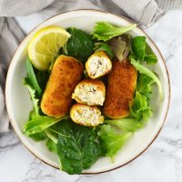 Chicken Croquettes with Ricotta and Thyme