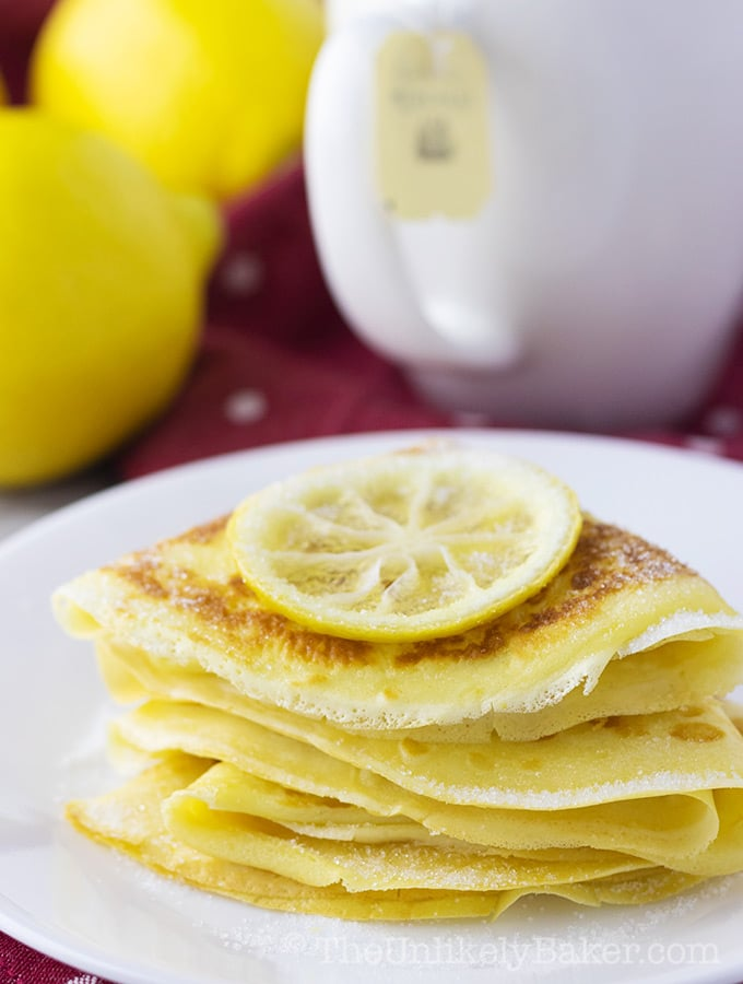 Lemon Sugar Crepes Recipe