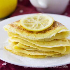 Lemon Sugar Crepes Recipe